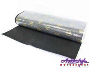 STP Black Carpet – 10meter stick-on roll-0